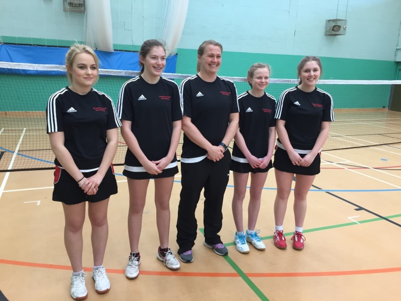 Sponsors of Bungay High School Badminton Team - Regional Finals1
